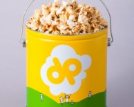 Doc Popcorn Yellow  Tiny Tin $15